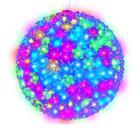 Фигура новогодняя UNIEL ULD-H2727-300/DTA RGB IP20 SAKURA BALL