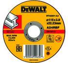 Круг отрезной DEWALT DT42201-XJ