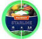 Леска для триммеров PATRIOT Starline D 3,0мм L 15м