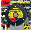 Круг алмазный FUBAG Multi Master 88125-3