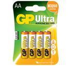 Батарейка GP 15AU-BC4 Ultra