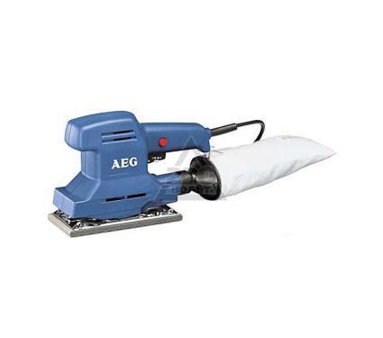 Машинка шлифовальная плоская (вибрационная) AEG VSSE 260