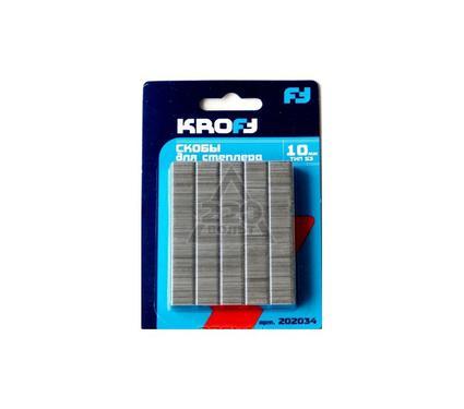 Скобы для степлера KROFT 202034
