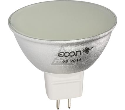 Лампа светодиодная ECON LED MR 5Вт GU5.3 3000K 220V