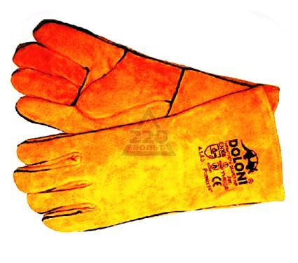 Перчатки сварщика DOLONI 4507  с подкладкой, желтые