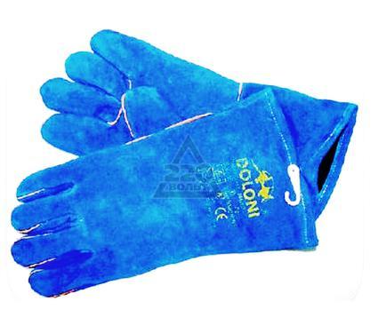 Перчатки сварщика DOLONI 4508  с подкладкой, синие