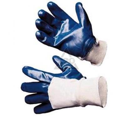 Перчатки нитриловые DOLONI 850  нитриловые синие, полный облив
