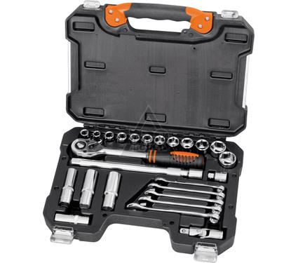 Набор инструментов в пластиковом кейсе, 25 предметов КРАТОН TS-20