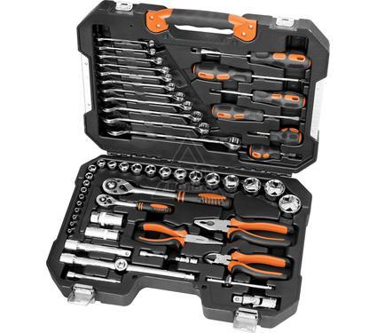 Набор инструментов в чемодане, 55 предметов КРАТОН TS-24