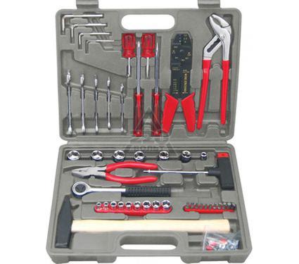 Набор инструментов в чемодане, 100 предметов FIT 65090
