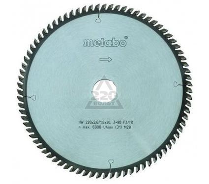 Диск пильный твердосплавный METABO 305 X 80 X 30