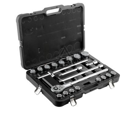 Набор торцевых ключей, 21 предмет BERGER BG021-34