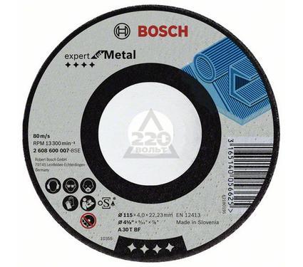 Круг зачистной BOSCH Expert for Metal 115 Х 4 Х 22