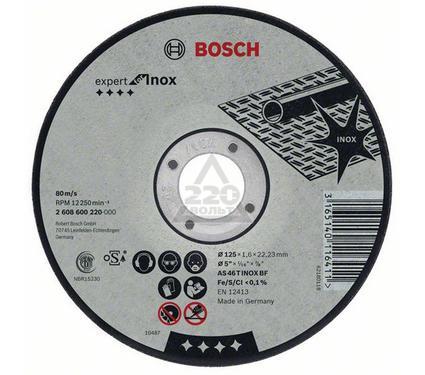 Круг отрезной BOSCH Expert for Inox 115 Х 2,0 Х 22 по нержавейке