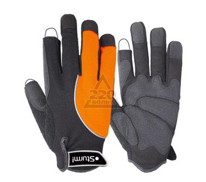 Перчатки ПВХ STURM! 8054-04-L