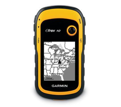 Туристический навигатор GARMIN eTrex 10 GPS\GLONAS Russia