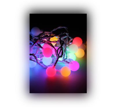 Электрогирлянда КОСМОС ''Большие шарики'' KOC GIR30LED BIGBALL RGB