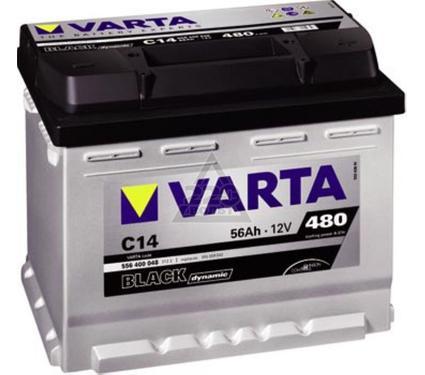 Аккумулятор VARTA BLACK dynamic 556 400 048