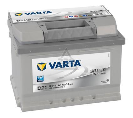 Аккумулятор VARTA SILVER dynamic 561 400 060