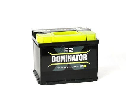 Аккумулятор DOMINATOR 62А/ч