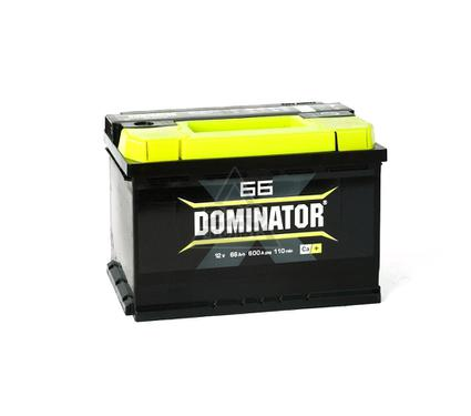 Аккумулятор DOMINATOR 66А/ч