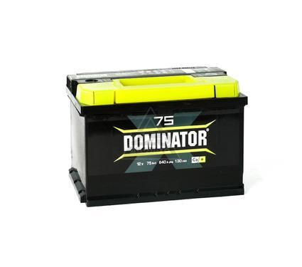 Аккумулятор DOMINATOR 75А/ч