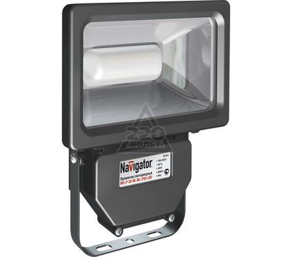 Прожектор светодиодный NAVIGATOR 94 630 NFL-P-30-4K-BL-IP65-LED