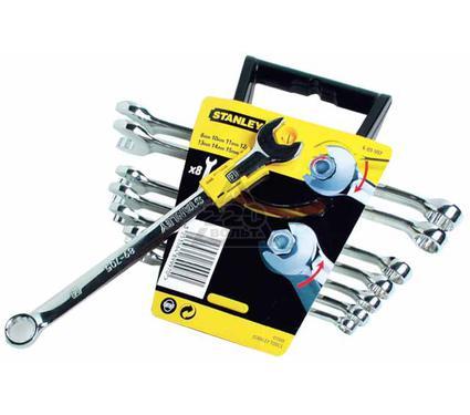 Набор комбинированных гаечных ключей в держателе, 8 шт. STANLEY ACCELERATOR 4-89-997
