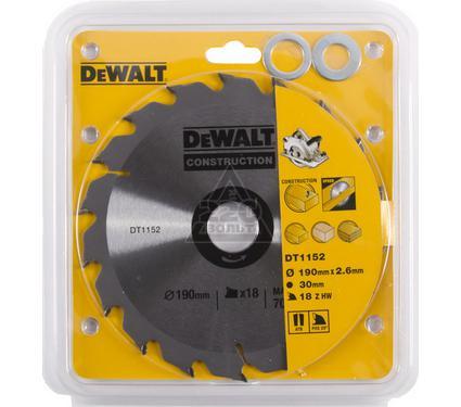 Диск пильный твердосплавный DEWALT DT1152-QZ