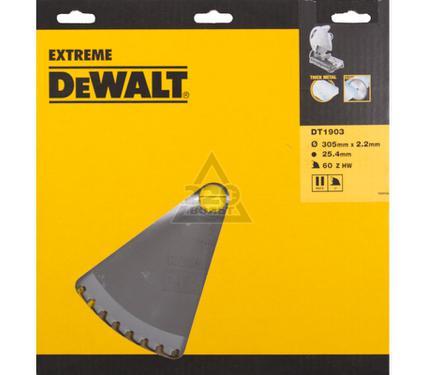 Диск пильный твердосплавный DEWALT DT1903-QZ