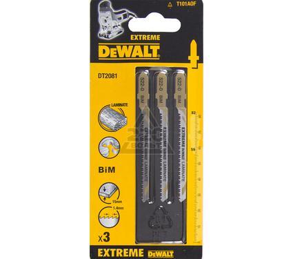 Пилки для лобзика DEWALT T101AOF