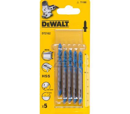 Пилки для лобзика DEWALT T118G