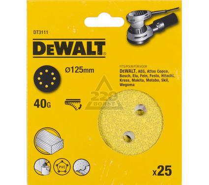 Круг фибровый DEWALT DT3111-QZ