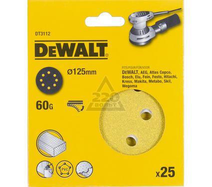 Круг фибровый DEWALT DT3112-QZ