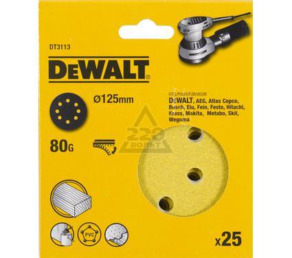 Круг фибровый DEWALT DT3113-QZ