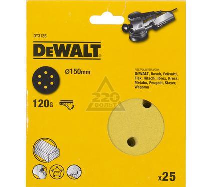 Круг фибровый DEWALT DT3135-QZ