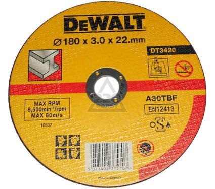 Круг отрезной DEWALT 180 X 3 X 22
