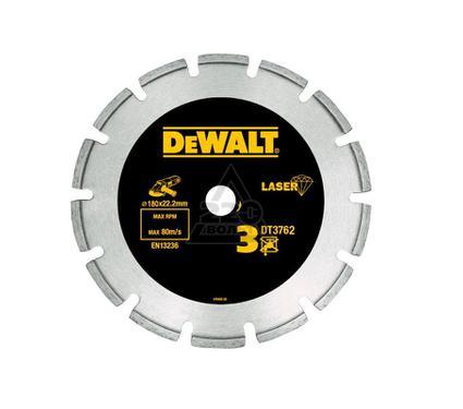 Круг алмазный DEWALT 180x22.2x2.4мм сегментный, по мрамору и граниту