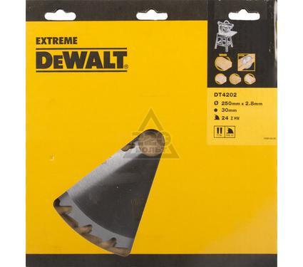 Диск пильный твердосплавный DEWALT DT4202-QZ