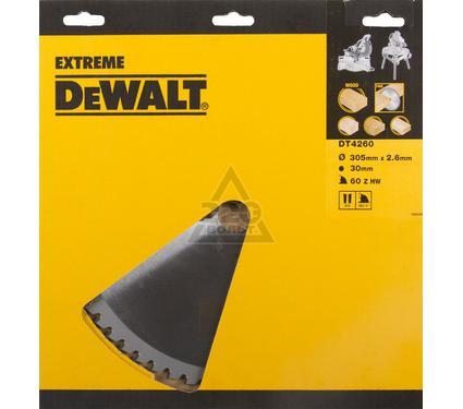 Диск пильный твердосплавный DEWALT DT4260-QZ