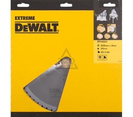 Диск пильный твердосплавный DEWALT DT4331-QZ