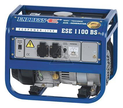 Бензиновый генератор ENDRESS ESE 1100 BS ECOPOWER бензиновый