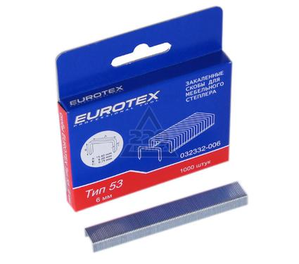 Скобы для степлера EUROTEX 032332-006