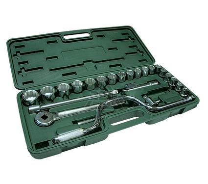 Набор автомобильных торцевых головок с принадлежностями, 24 предмета SANTOOL 110302-024