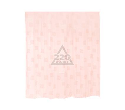 Штора для ванной комнаты VERRAN Signs pink 630-69
