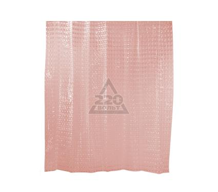 Штора для ванной комнаты WESS Belorr pink P510-8