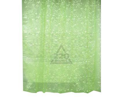 Штора для ванной комнаты WESS Rattan green P512-5