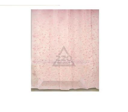 Штора для ванной комнаты WESS Rattan pink P512-8