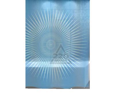Штора для ванной комнаты WESS Mistilight blue P518-3