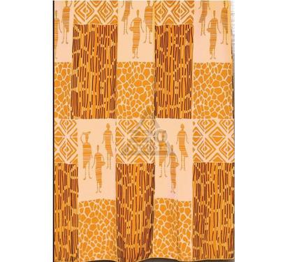 Штора для ванной комнаты WESS KonoKono orange T567-8